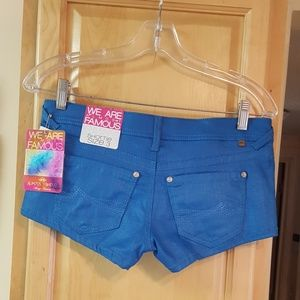 Almost Famous Shortie Shorts Lowrise 3 NEW